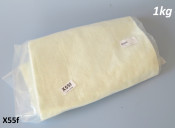 Sheet of fibreglass 'wool' for packing exhaust silencers 100cm x 50cm (12mm thickness)