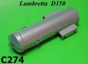 Toolbox with cover Lambretta D125 +150D + LD125 (Vers. 2+3)