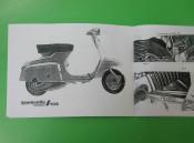 Lambretta J50 (1st. series) owners manual