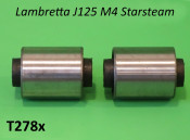 Pair of engine silentblocks for Lambretta J125 Starstream M4