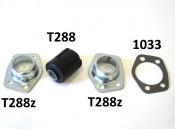 Pair of silentblock gaskets for Lambretta J (all versions)