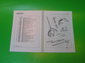 Spare parts book Lambretta F125