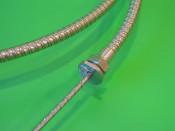 Complete Teleflex gearchange cable (inner + outer) Lambretta E F