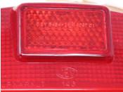 Original CEV rear light lense for Lambretta GP / DL models