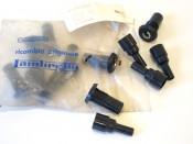 Original NOS Innocenti main choke control mechanism + cable tube cap