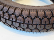 """Continental 3.50 x 10"""" tyre with 'Classic' tread pattern"""