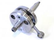 Race quality 62mm x 110mm crankshaft for CasaCase engine casing.