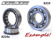 Special drive side crankshaft bearing for CasaCase engine casing