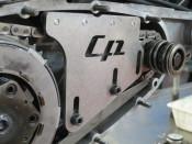 Casa Performance top chain guide tensioner for Lambretta J + Lui Vega Cometa