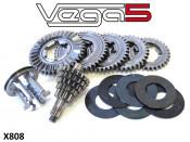 Casa Performance Vega5 5 speed gearbox kit Lambretta J + Lui + Vega + Cometa