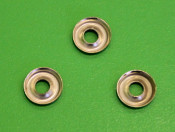 Set 3 x 'cup' washers for front headlight rim screws