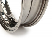 VERY high quality fully mirror polished stainless steel BGM wheel rim for Lambretta