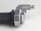 Quick action throttle grip -TOMMASELLI Ø=22mm horizontal- Alloy