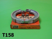 Front brake shoes pair