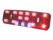 LED rear light / reflector for Lambretta S1 (+S2 1st. Vers./models with narrow type rear light)