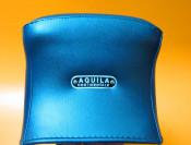 Complete dark blue seat with passenger grab handle Vespa GS150  VS2 - 3 - 4