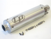 Casa Performance CNC tailpipe silencer for expansion chamber exhausts
