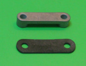 Rubber gasket for top number plate aluminium support spacer Lambretta D150