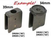 No.40 slide for Dell'Orto VHSB 34mm carburettor