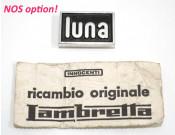 'Luna' legshield badge