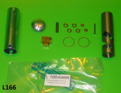 Complete throttle assembly
