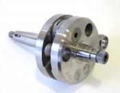 Race quality 66mm x 120mm crankshaft for CasaCase engine casing