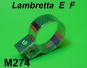 Chromed exhaust clamp Lambretta E + F