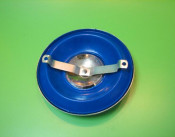 8 inch wheel disc blue
