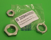 Set 3 x special nuts for clutch + front bevel gears for Lambretta D150 + LD125 Deriv. '56 + LD150