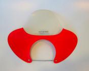ORIGINAL NOS 60's Metalplast flyscreen for Lambretta + Vespa
