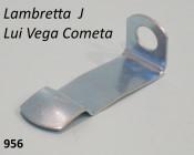 Rear brake cable bracket Lambretta J + Lui
