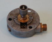Speedo drive (for rear of engine casing) for 'slotted' type rear axle Lambretta D125 LD125