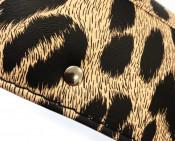 Leopard seat cover Lycett Replica Lambretta S3 + TV3 + Special + SX