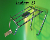 Horizontal rear carrier / wheel carrier Lambretta S3