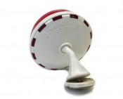 Biemme Mirror - NOS - Translucent Red - Universal Vespa + Lambretta