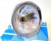 Complete headlight unit for Lambretta S3 Special + TV175 + TV200 + SX200