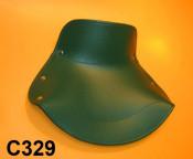 Green front + rear single seat cover Lambretta  D150 + LD125 '56 (Deriv.) + F125