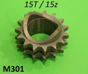 15T front sprocket  (Innocenti / Omega)
