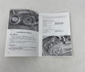 Owners manual Lambretta LI125 S1