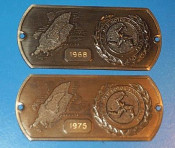 Isle of Man 'Scooter Week' plaques