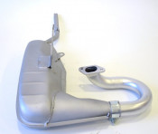 Casa Clubman 42mm exhaust system (complete with U-bend and clamp)