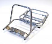 Serveta type chromed rear carrier