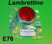 Rear light lense & chrome ring surround