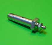 Pair of fork link bolts with grease nipples + bushes