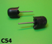 Pair of rubber sidepanel buffers LD