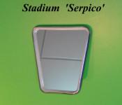 70s style Stadium mirror head (Serpico model)