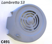 Metal flywleel cover cowling for Lambretta S3 + Serveta