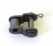 Half-link for extending drive chain for Lambretta J / Lui