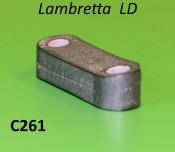External numberplate spacer Lambretta LD