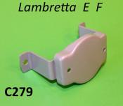Metal support bracket for front shield badge Lambretta E F
